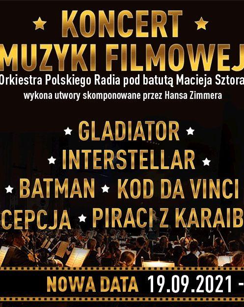 Koncert Muzyki Filmowej - utwory H. Zimmera  bilety
